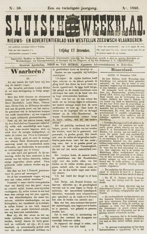 Sluisch Weekblad. Nieuws- en advertentieblad voor Westelijk Zeeuwsch-Vlaanderen 1880-12-17