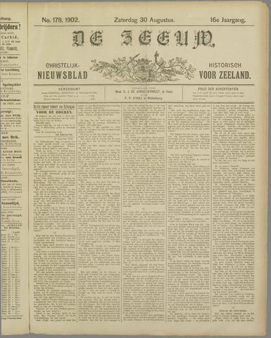 De Zeeuw. Christelijk-historisch nieuwsblad voor Zeeland 1902-08-30