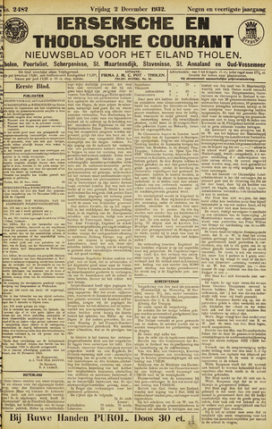 Ierseksche en Thoolsche Courant 1932-12-02