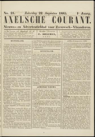 Axelsche Courant 1885-08-22
