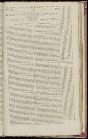 Middelburgsche Courant 1795-11-05