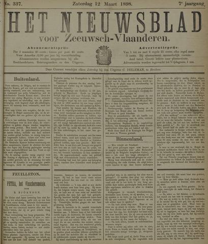 Nieuwsblad voor Zeeuwsch-Vlaanderen 1898-03-12