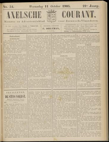 Axelsche Courant 1905-10-11