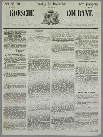 Goessche Courant 1881-12-20