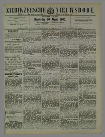 Zierikzeesche Nieuwsbode 1905-03-30
