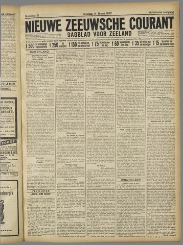 Nieuwe Zeeuwsche Courant 1922-03-14