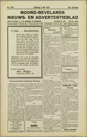 Noord-Bevelands Nieuws- en advertentieblad 1952-05-03