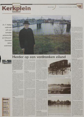 Watersnood documentatie 1953 - kranten 2003-01-30