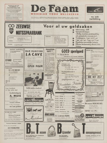 de Faam en de Faam/de Vlissinger 1971-04-29