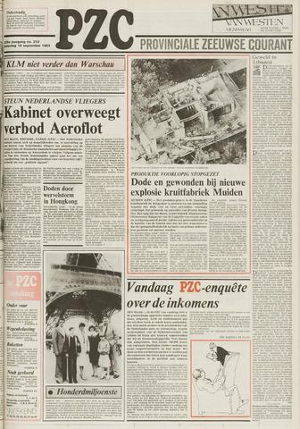 Provinciale Zeeuwse Courant 1983-09-10