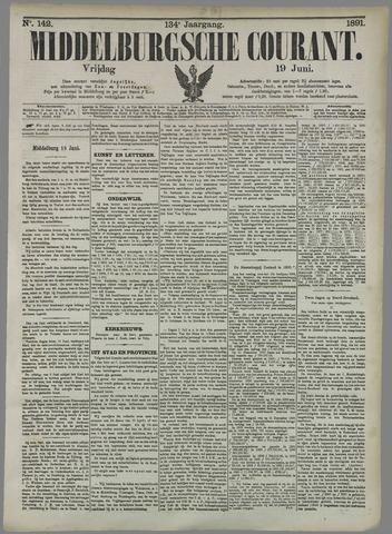 Middelburgsche Courant 1891-06-19