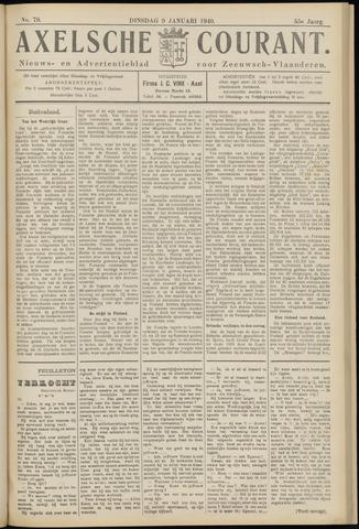Axelsche Courant 1940-01-09