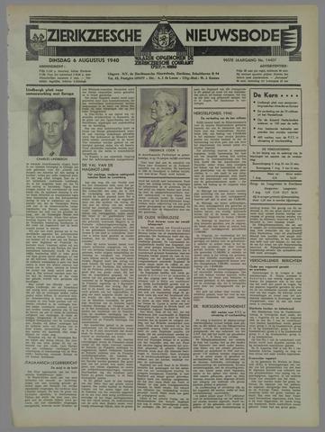 Zierikzeesche Nieuwsbode 1940-08-06