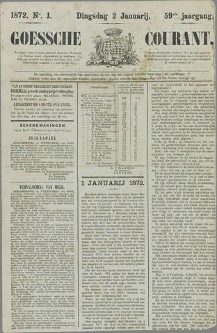 Goessche Courant 1872