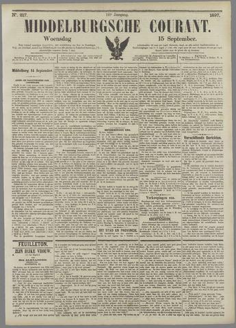 Middelburgsche Courant 1897-09-15