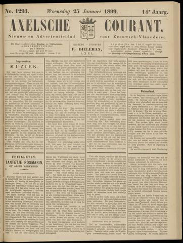 Axelsche Courant 1899-01-25