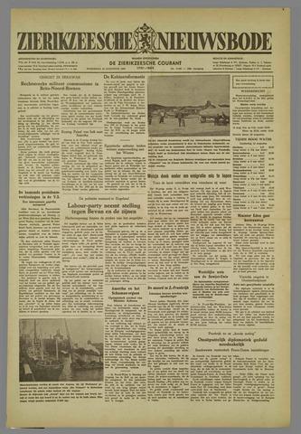 Zierikzeesche Nieuwsbode 1952-08-13