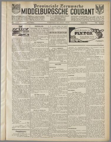 Middelburgsche Courant 1930-07-25