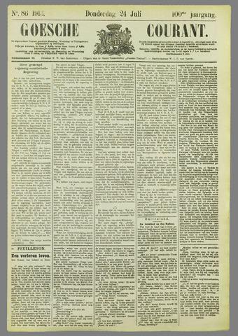 Goessche Courant 1913-07-24