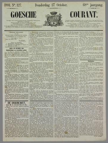 Goessche Courant 1881-10-27