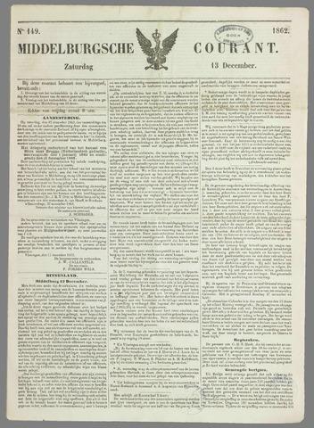 Middelburgsche Courant 1862-12-13