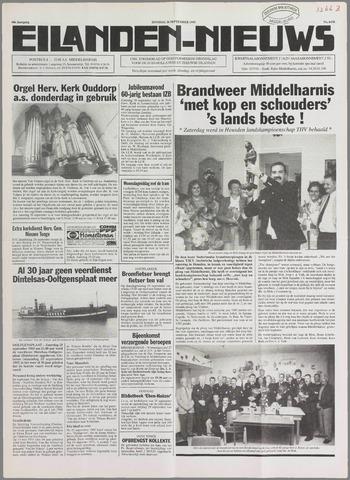 Eilanden-nieuws. Christelijk streekblad op gereformeerde grondslag 1995-09-26