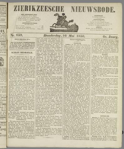 Zierikzeesche Nieuwsbode 1850-05-16
