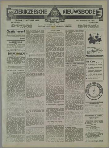 Zierikzeesche Nieuwsbode 1937-12-17