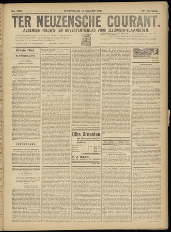 Ter Neuzensche Courant. Algemeen Nieuws- en Advertentieblad voor Zeeuwsch-Vlaanderen / Neuzensche Courant ... (idem) / (Algemeen) nieuws en advertentieblad voor Zeeuwsch-Vlaanderen 1933-03-15