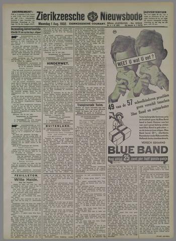 Zierikzeesche Nieuwsbode 1932-08-01