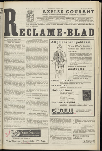 Axelsche Courant 1956-06-06