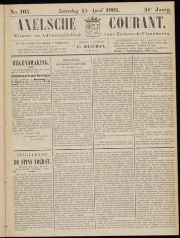 Axelsche Courant 1905-04-15