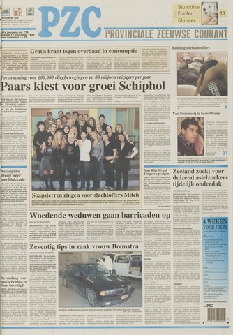 Provinciale Zeeuwse Courant 1998-11-17
