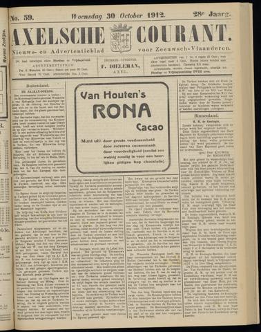Axelsche Courant 1912-10-30