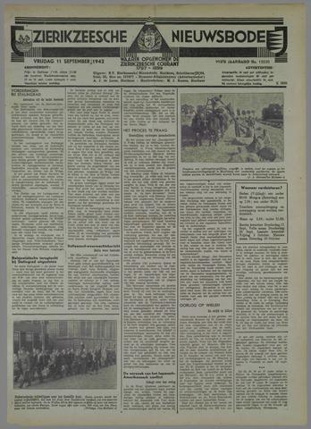 Zierikzeesche Nieuwsbode 1942-09-11