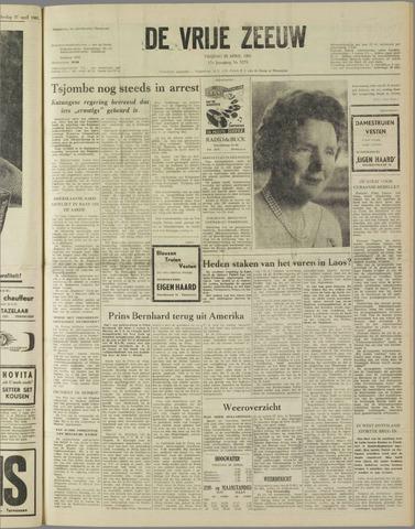 de Vrije Zeeuw 1961-04-28