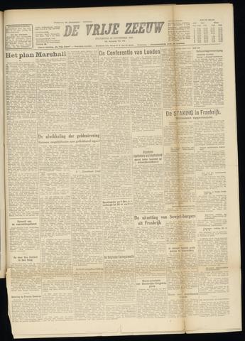 de Vrije Zeeuw 1947-11-29