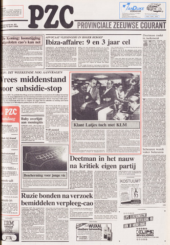 Provinciale Zeeuwse Courant 1989-04-15