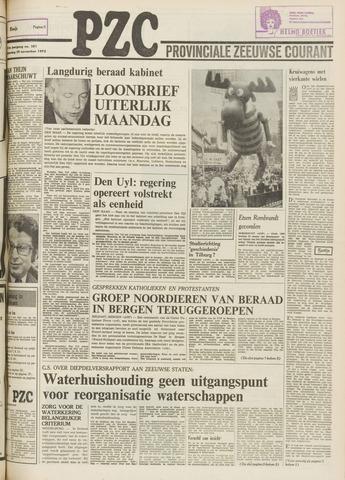 Provinciale Zeeuwse Courant 1975-11-29