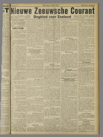 Nieuwe Zeeuwsche Courant 1920-05-10