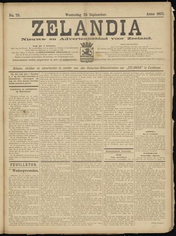 Zelandia. Nieuws-en advertentieblad voor Zeeland | edities: Het Land van Hulst en De Vier Ambachten 1902-09-24