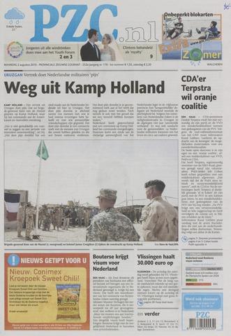 Provinciale Zeeuwse Courant 2010-08-02