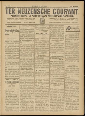 Ter Neuzensche Courant. Algemeen Nieuws- en Advertentieblad voor Zeeuwsch-Vlaanderen / Neuzensche Courant ... (idem) / (Algemeen) nieuws en advertentieblad voor Zeeuwsch-Vlaanderen 1932-05-13