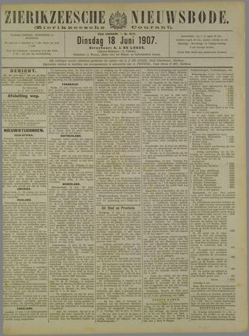 Zierikzeesche Nieuwsbode 1907-06-18