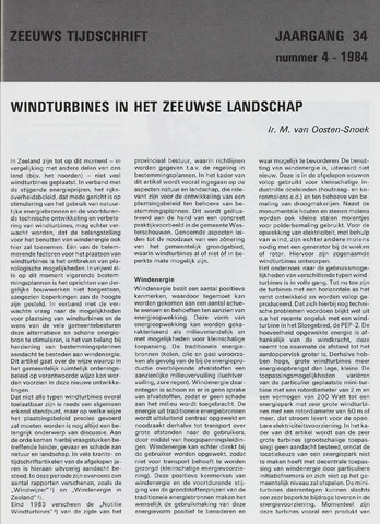 Zeeuws Tijdschrift 1984-07-01