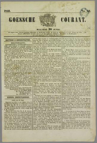 Goessche Courant 1851-06-30