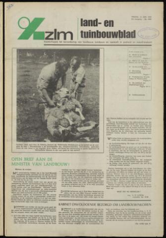Zeeuwsch landbouwblad ... ZLM land- en tuinbouwblad 1975-06-13