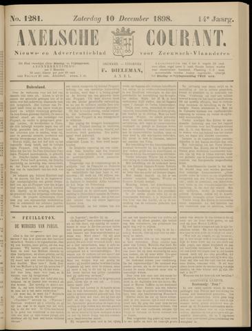 Axelsche Courant 1898-12-10