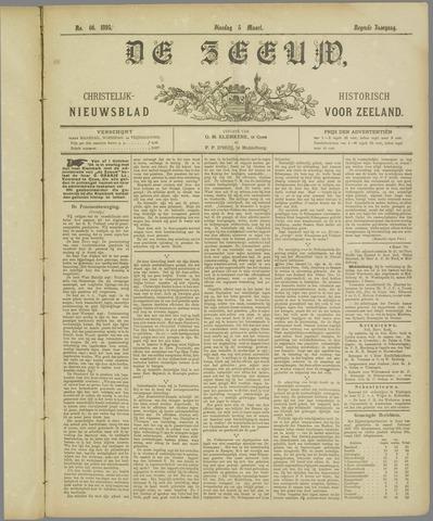 De Zeeuw. Christelijk-historisch nieuwsblad voor Zeeland 1895-03-05