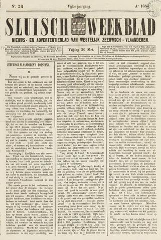 Sluisch Weekblad. Nieuws- en advertentieblad voor Westelijk Zeeuwsch-Vlaanderen 1864-05-20